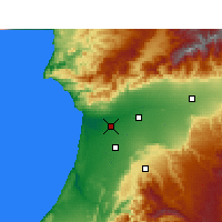 Nearby Forecast Locations - Agadir - Carte