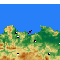 Nearby Forecast Locations - Skikda - Carte