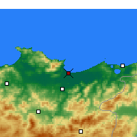 Nearby Forecast Locations - Annaba - Carte