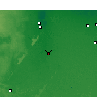 Nearby Forecast Locations - Touggourt - Carte