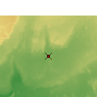 Nearby Forecast Locations - In Salah - Carte