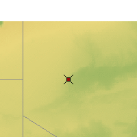 Nearby Forecast Locations - Tindouf - Carte