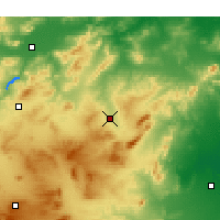Nearby Forecast Locations - Siliana - Carte