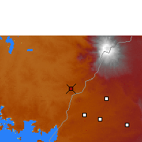 Nearby Forecast Locations - Tororo - Carte