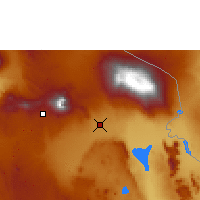 Nearby Forecast Locations - Kilimandjaro - Carte