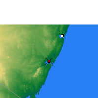Nearby Forecast Locations - Mombasa - Carte