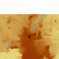 Nearby Forecast Locations - Jos - Carte