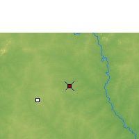 Nearby Forecast Locations - Ouagadougou - Carte
