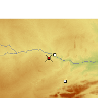 Nearby Forecast Locations - Messina - Carte
