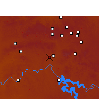 Nearby Forecast Locations - Vereeniging - Carte