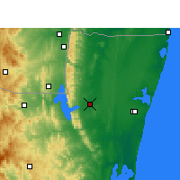 Nearby Forecast Locations - Makatini - Carte