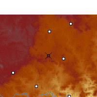 Nearby Forecast Locations - Durnacol - Carte