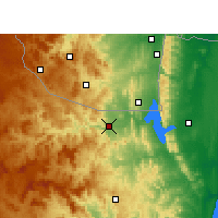 Nearby Forecast Locations - Pongola - Carte