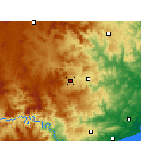 Nearby Forecast Locations - Babanango - Carte
