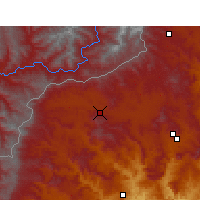 Nearby Forecast Locations - Matatiele - Carte