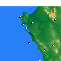 Nearby Forecast Locations - Geelbek - Carte
