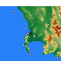 Nearby Forecast Locations - Milnerton - Carte
