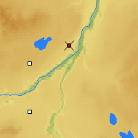 Nearby Forecast Locations - Peace River - Carte