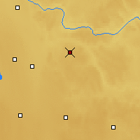 Nearby Forecast Locations - Two Hills - Carte