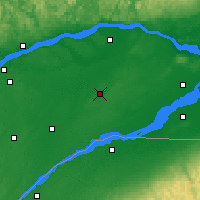 Nearby Forecast Locations - Beaver Mines - Carte