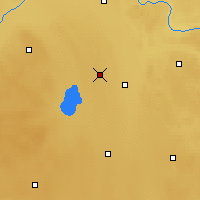 Nearby Forecast Locations - Mundare - Carte
