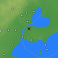 Nearby Forecast Locations - Windsor - Carte