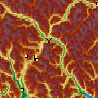 Nearby Forecast Locations - Pemberton - Carte