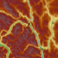 Nearby Forecast Locations - Lillooet - Carte