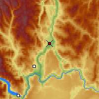 Nearby Forecast Locations - Omak - Carte