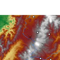 Nearby Forecast Locations - Popayán - Carte
