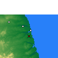 Nearby Forecast Locations - Natal - Carte
