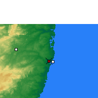 Nearby Forecast Locations - Recife - Carte