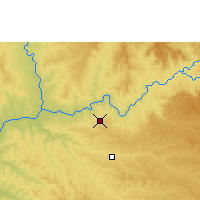 Nearby Forecast Locations - Capinópolis - Carte