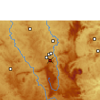 Nearby Forecast Locations - Belo Horizonte - Carte
