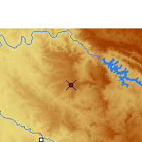 Nearby Forecast Locations - Franca - Carte
