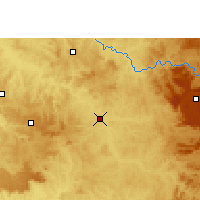 Nearby Forecast Locations - Pirassununga - Carte