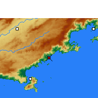 Nearby Forecast Locations - Ubatuba - Carte