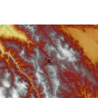 Nearby Forecast Locations - Chachapoyas - Carte