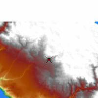 Nearby Forecast Locations - Arequipa - Carte