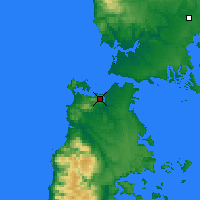 Nearby Forecast Locations - Ancud - Carte