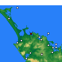 Nearby Forecast Locations - Taipa-Mangonui - Carte