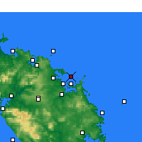 Nearby Forecast Locations - Baie des Îles - Carte