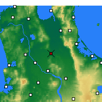Nearby Forecast Locations - Morrinsville - Carte