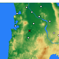 Nearby Forecast Locations - Otorohanga - Carte