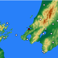 Nearby Forecast Locations - Porirua - Carte