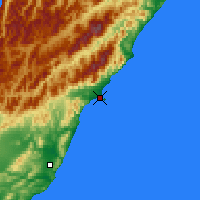 Nearby Forecast Locations - Kaikoura - Carte