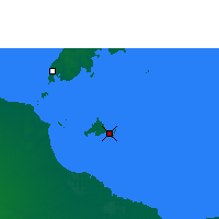 Nearby Forecast Locations - Sweers Island - Carte