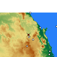 Nearby Forecast Locations - Mareeba - Carte
