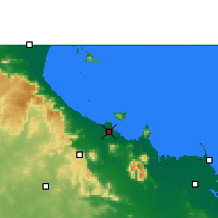 Nearby Forecast Locations - Townsville - Carte