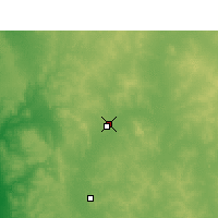 Nearby Forecast Locations - Morawa (Aéroport) - Carte